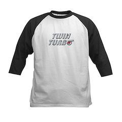 Twin Turbos Kids Baseball Jersey