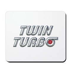 Twin Turbos Mousepad