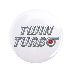 """Twin Turbos 3.5"""" Button (100 pack)"""