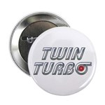 """Twin Turbos 2.25"""" Button"""