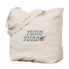 Twin Turbos Tote Bag