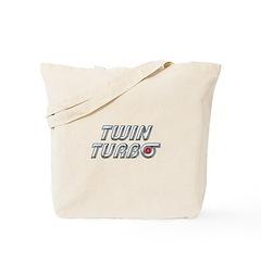 Twin Turbos Tote Bag