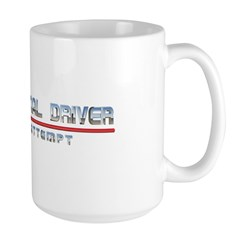 Professional Driver Large Mug