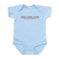 Professional Driver Infant Bodysuit
