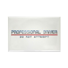 Professional Driver Rectangle Magnet