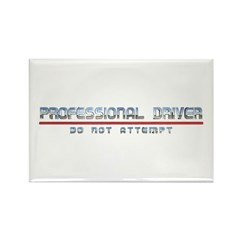 Professional Driver Rectangle Magnet (10 pack)