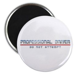 """Professional Driver 2.25"""" Magnet (100 pack)"""