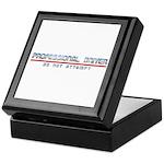Professional Driver Keepsake Box