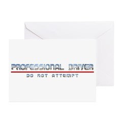 Professional Driver Greeting Cards (Pk of 10)