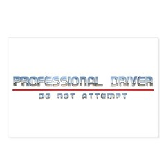 Professional Driver Postcards (Package of 8)