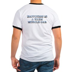 Happiness is a Warm Muscle Car Tee-Shirt