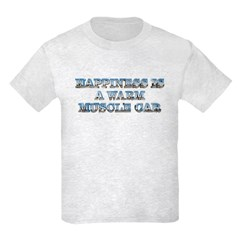 Happiness is a Warm Muscle Car T-Shirt