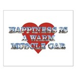 Happiness is a Musclecar II Small Poster