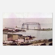 1905 Duluth Harbor and Aerial Postcards (Package o