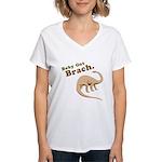 Baby Got Brach Women's V-Neck T-Shirt