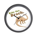 Baby Got Brach Wall Clock