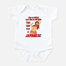 Infant Bodysuit - ECRR Japanese Red