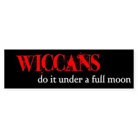 Wiccan Bumper Sticker