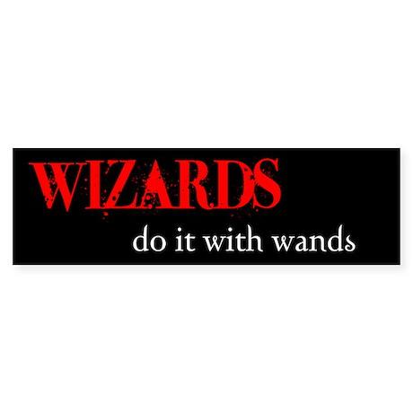 Wizards Bumper Sticker