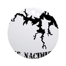 NACI (823 BLACK) Ornament (Round)