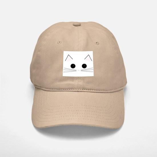 Kitty Face Baseball Baseball Cap