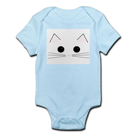 Kitty Face Infant Creeper