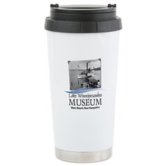 Lake Winnipesaukee Museum Logo Travel Mug