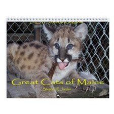 Great Cats of Maine Wall Calendar