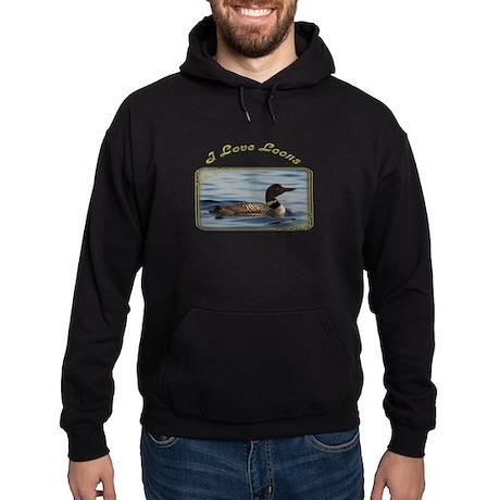 Common Loon Hoodie (dark)