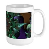 Fractal art Large Mugs (15 oz)