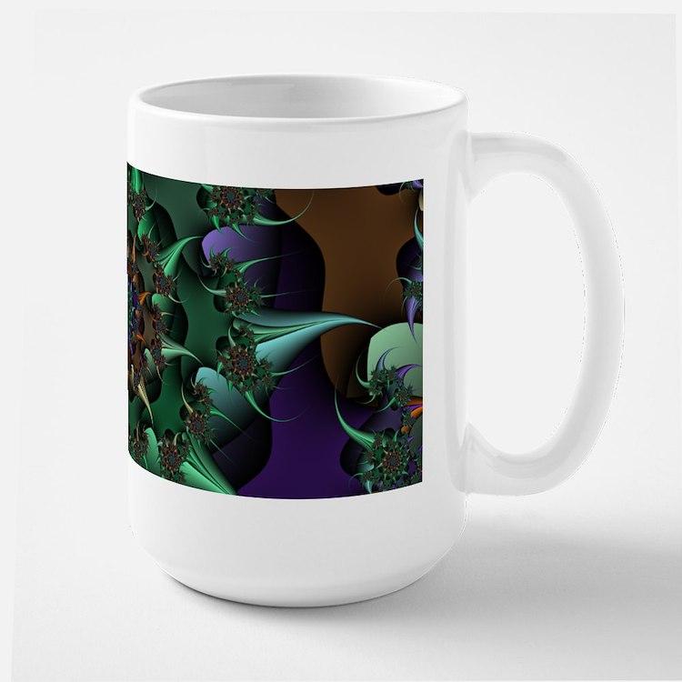 Fractal Art Large Mug