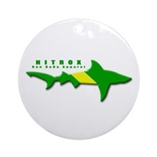 Nitrox Shark Ornament (Round)