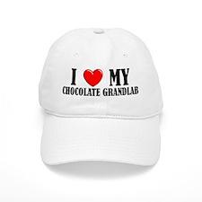 Chocolate Grandlab Baseball Cap