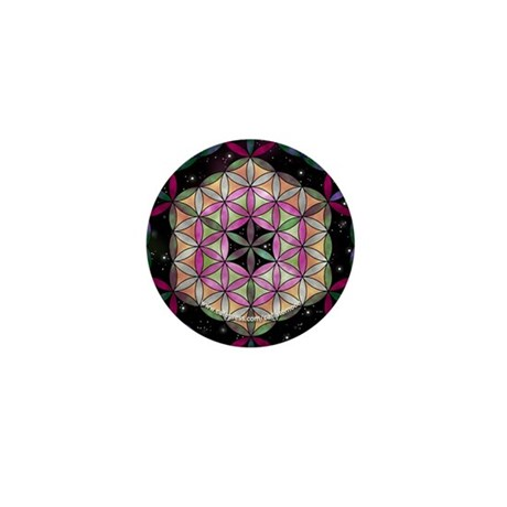 Metatron's Cube Mini Button (10 pack)