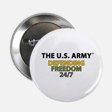 """U.S. Army Defending Freedom 2.25"""" Button"""