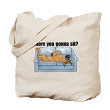 NF Where RU Tote Bag