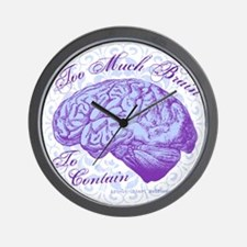 Too Much Brain to Contain Wall Clock