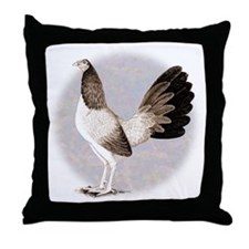Henny Gamecock Throw Pillow