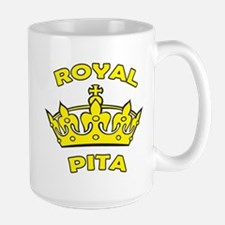 Royal Pita Large Mug