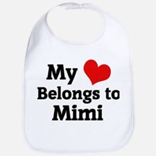 My Heart: Mimi Bib