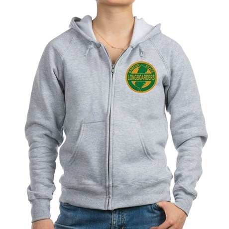 Women's Zip Hoodie (logo on front and back)
