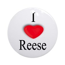 Reese Ornament (Round)