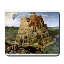 Tower of Babel Mousepad
