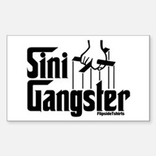 Sini-Gangster Rectangle Decal