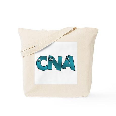 CNA Google Eyes Tote Bag