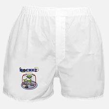 Frog Hockey Boxer Shorts