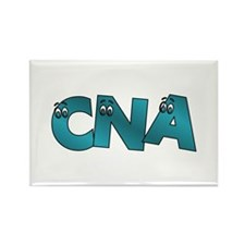 CNA Google Eyes Rectangle Magnet