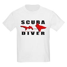 Scuba Diver: SHARK T-Shirt