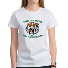 Tigers Love Pepper, They Hate Tee