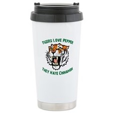 Tigers Love Pepper, They Hate Travel Mug